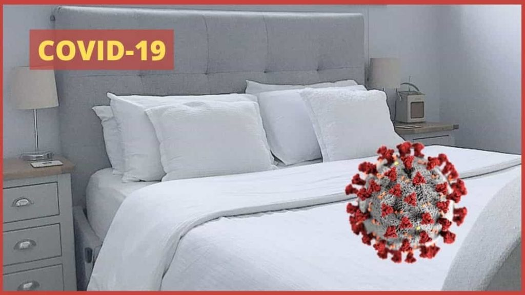 How to ensure bed sheet don't spread Novel Coronavirus