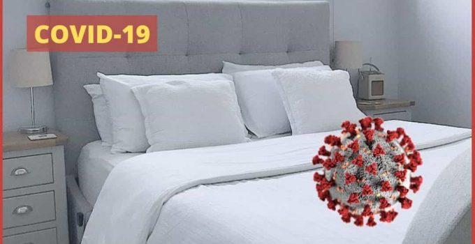 How to ensure bed sheet don't spread Novel Coronavirus