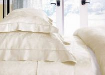 Why white bed sheets turn yellow
