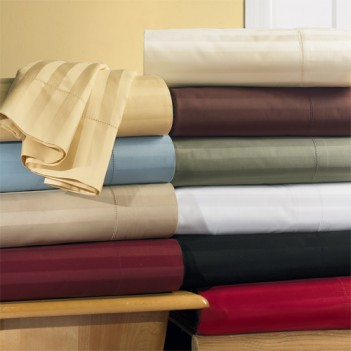 Waterbed Egyptian Linens: 1500 TC Waterbed Solid Egyptian Cotton - $329.99