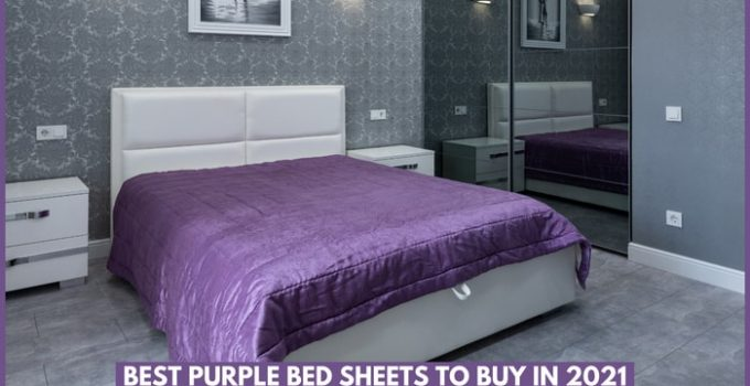 Best Purple Colored Bed Sheets To Buy in 2021