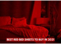 Best Red Bed Sheets To Buy in 2021